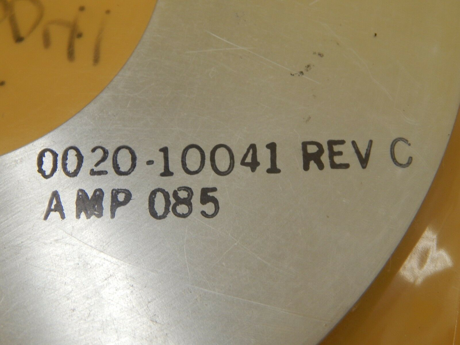AMAT Applied Materials 0020-10014 Lift Ring P5200 Precision 5200 Used Working