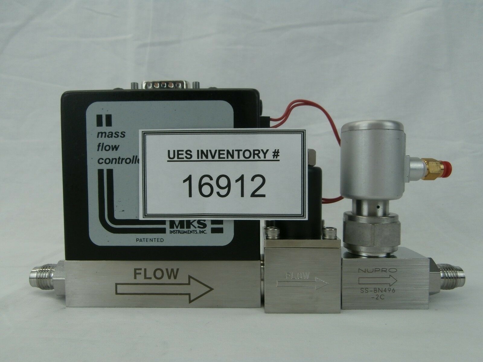 MKS Instruments 2259C-00200RV Mass Flow Controller MFC Assembly 200 SCCM N2 Used