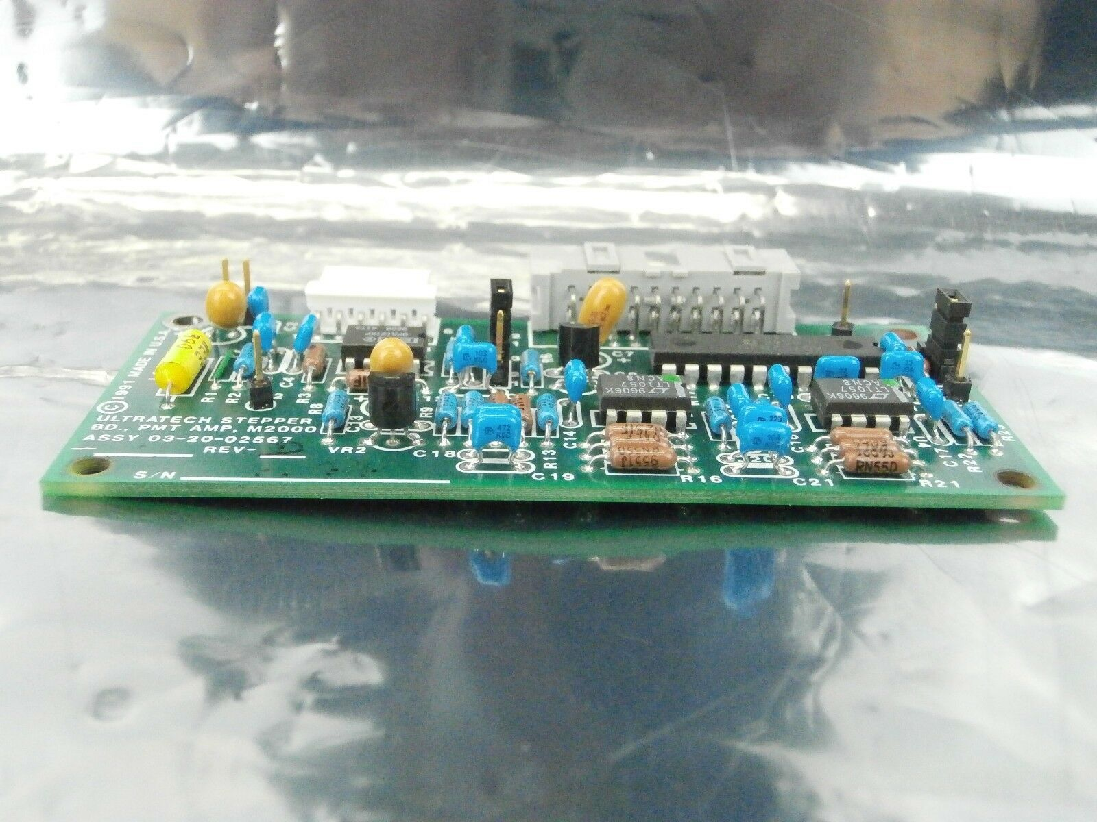 Ultratech Stepper 03-20-02567 Photomultiplier Amplifier M2000 PCB Board Used