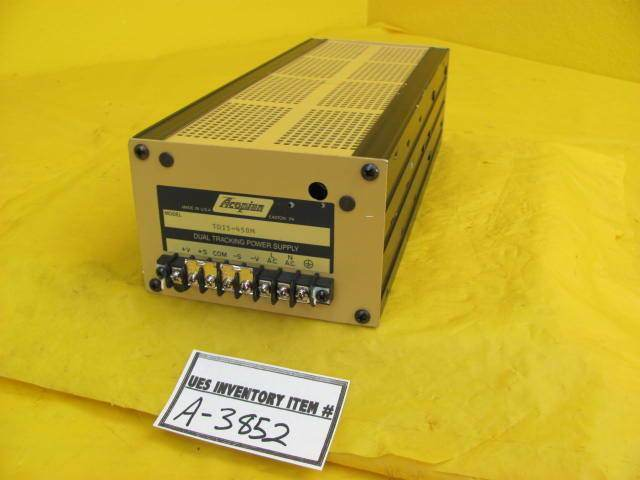 Acopian TD15-450M Dual Tracking Power Supply Used Working