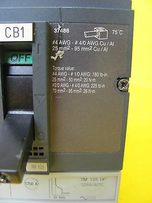 Merlin Gerin NSF150N Industrial Circuit Breaker Used Working