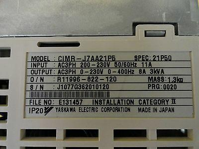 Yaskawa CIMR-J7AA21P5 Drive Controller VS Mini J7 Lot of 2 Used Working