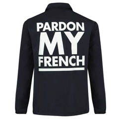 COACH JACKET PARDON MY FRENCH CLASSIC LOGO WHITE