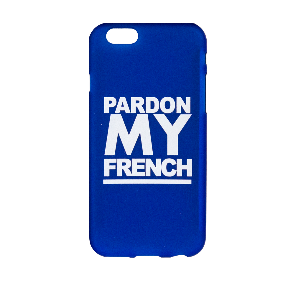 PMF IPHONE CASE TURQUOISE BLUE