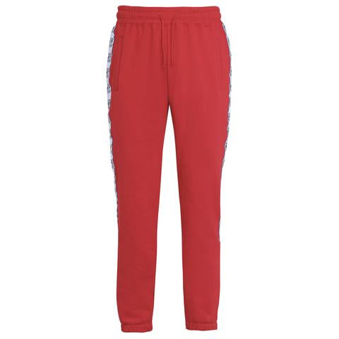 PARDON MY FRENCH HOODED PANTS RED