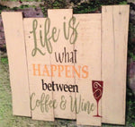 Life is What Happens Between Coffee  #2113
