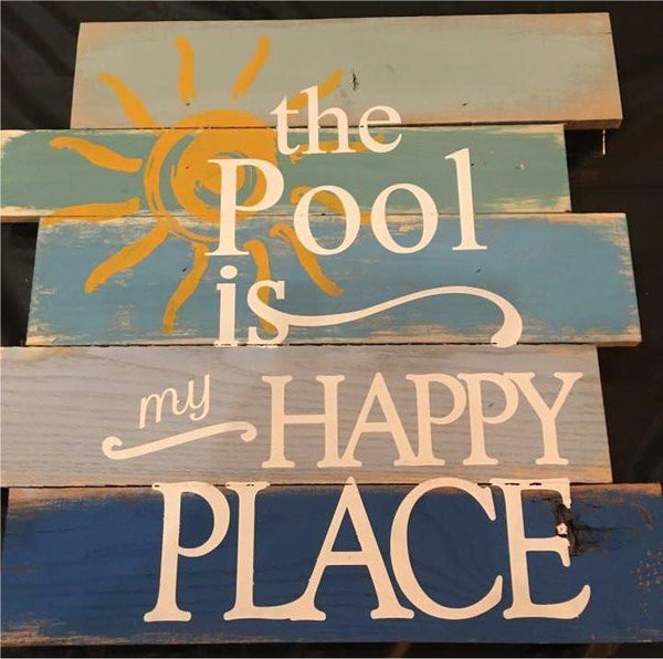 The Pool Is My Happy Place #3366
