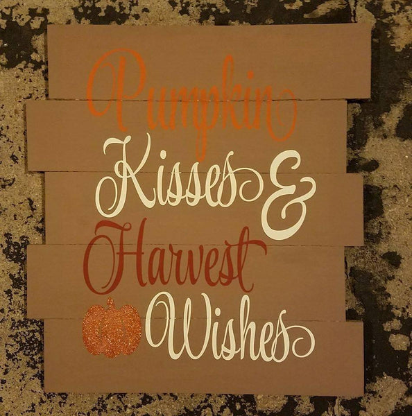 Pumpkin Kiss and Harvest Wishes #3493