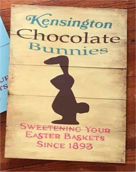 Kensington Chocolate Bunnies #3638
