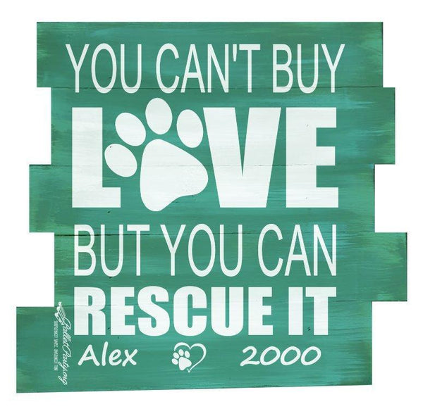 You Can't Buy Love But You Can Rescue It #3640