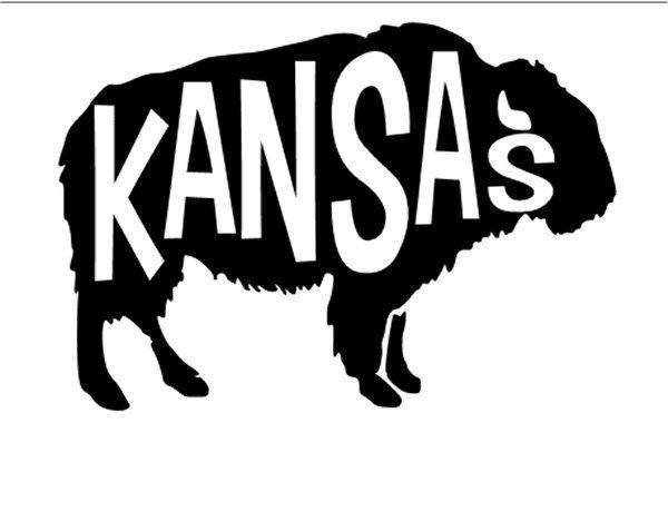 Kansas ( With Buffalo) - #3676