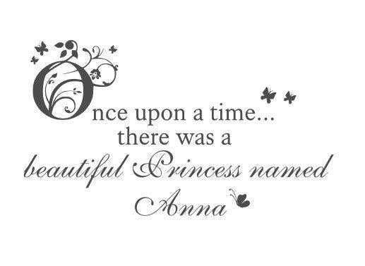 Once Upon a Time.. There Was a Beautiful Princess Named...  #3698