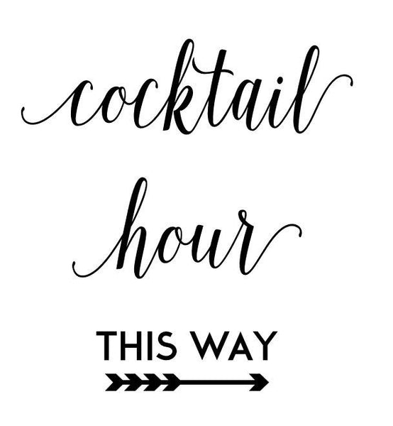 Cocktail Hour This Way #3788