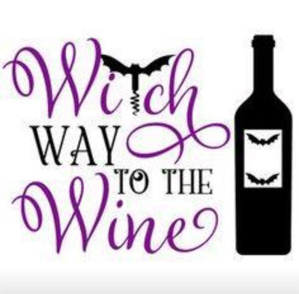 Witch Way To The Wine #3838