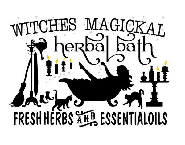 Witches Magickal Herbal Bath - #3856