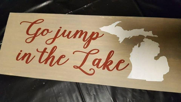 Go Jump In The Lake #7025
