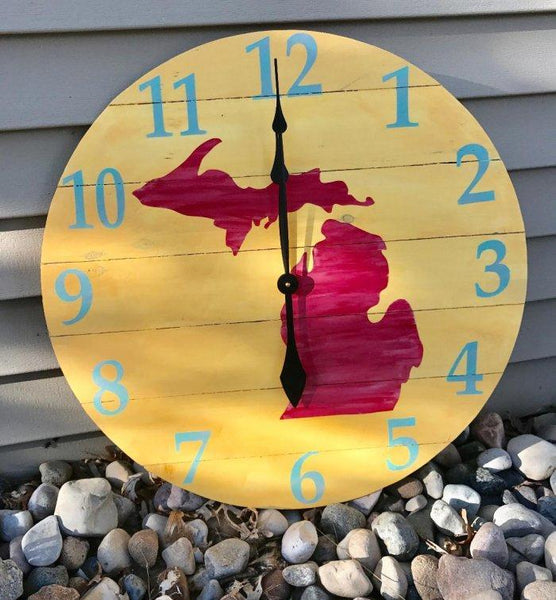 Love Your State #8015 Clock