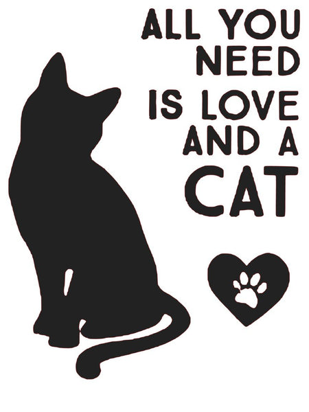 All You Need Is Love and A Cat #d120