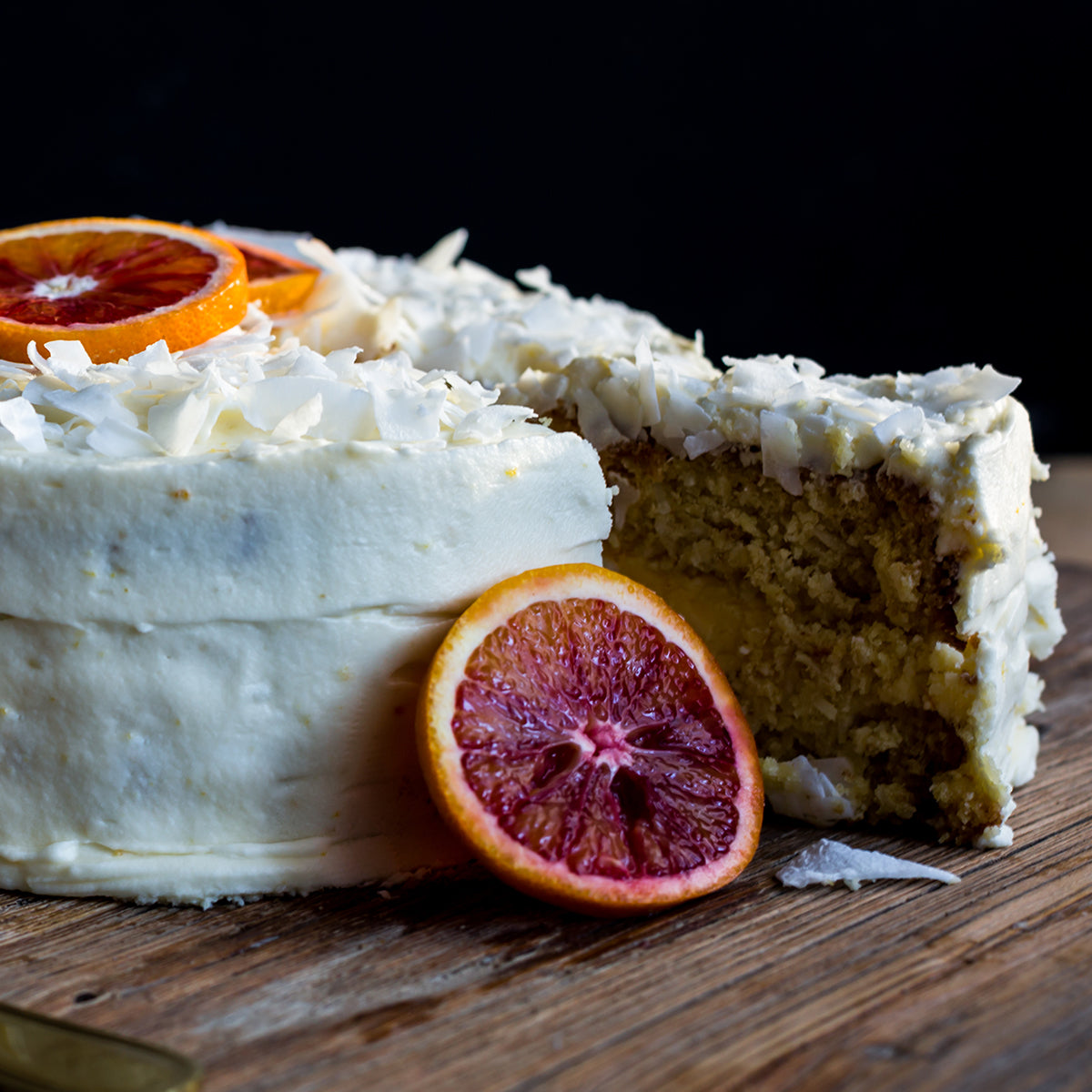 Orange and Coconut Cake