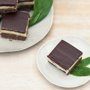 Fresh Mint & Choc Layered Slice