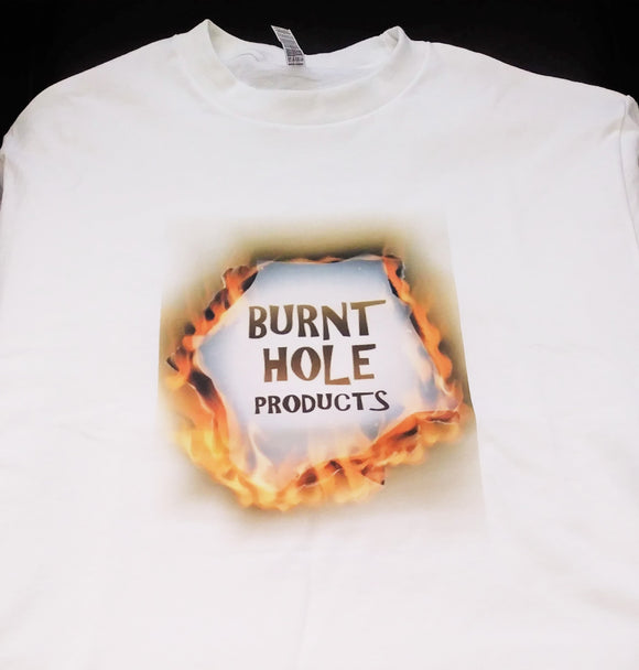 T-Shirt - Glassblunts.com by Burnt Hole Products - burntholeglassblunts
