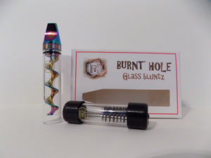 Glass Blunt - Mini Swish Gold from the #1 Glass blunts on the market! - burntholeglassblunts