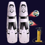 Pangeafooty - Inflatable Football Training Dummy