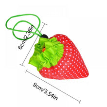 Strawberry Foldable Reusable Shopping Bags