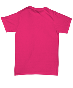 I've Gone Plastic Free T-shirt - Pink With Pink Logo
