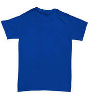 I've Gone Plastic Free T-shirt - Blue With Blue Logo