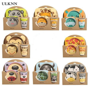 Bamboo Children's Tableware Set