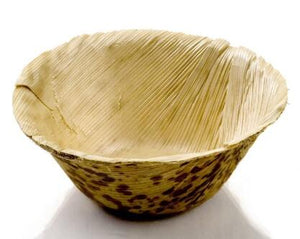 24 x Disposable Eco-Friendly Bamboo Mini Dessert Bowls, 60ml Capacity