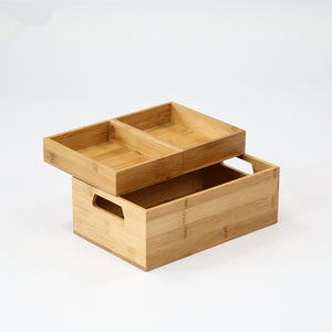 Bamboo Water Resistant Storage Box