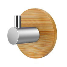 Self Adhesive Bamboo and Stainless Steel Hooks