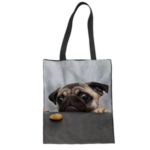 Cute Dog Shopping Bags