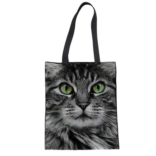Cute Cat Shopping Bags