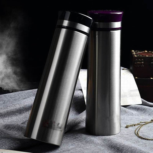 Stainless Steel Water Bottle & Vacuum Thermal Flask, 350ml and 500ml