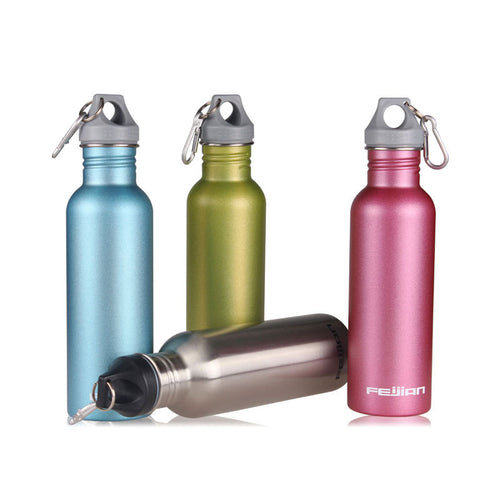 Sports Stainless Steel Water Bottle, 750ml