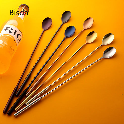 Stainless Steel Cocktail Spoon Stirrer