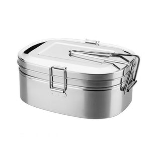 Stainless Steel Bento Lunch Box Food Container Food Box Portable Lunchbox