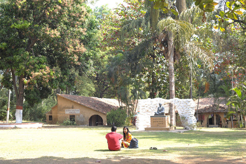 Green Ashram was founded on core values and principles also espoused by Mahatma Gandhi, who was a native of this region