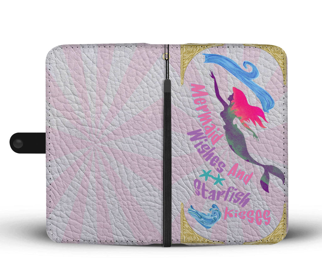 Mermaid Wishes And Starfish Kisses Phone Case Printed