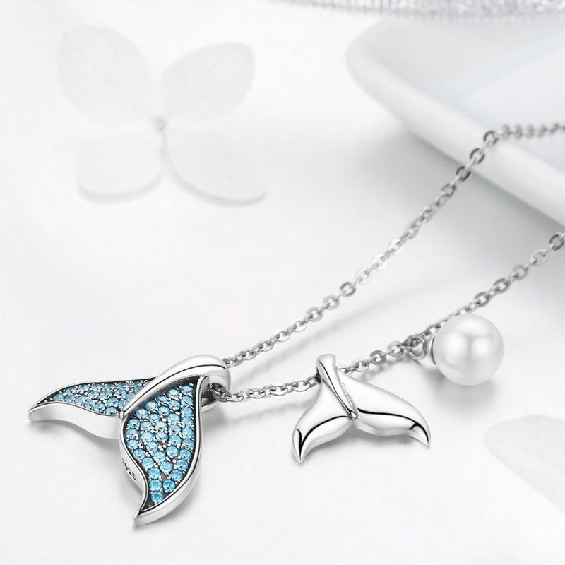 Mermaid Abella 925 Sterling Silver Necklace