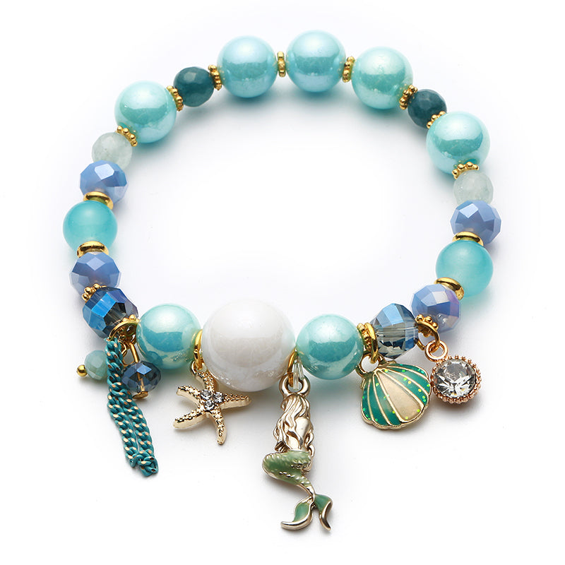 Pretty Little Mermaid Charm Bracelet