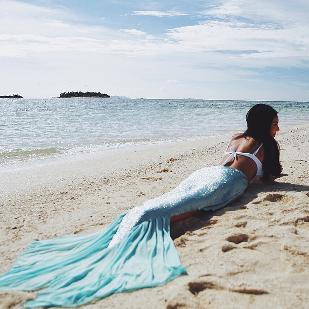 Mermaid Tail Beach Cover Up