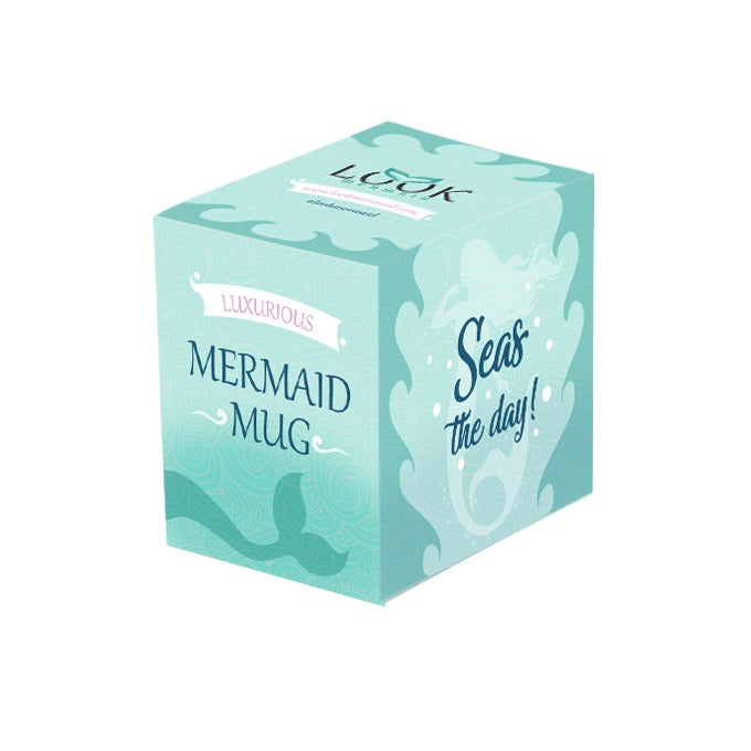 Seas The Day Mermaid Pearl Tail Mug
