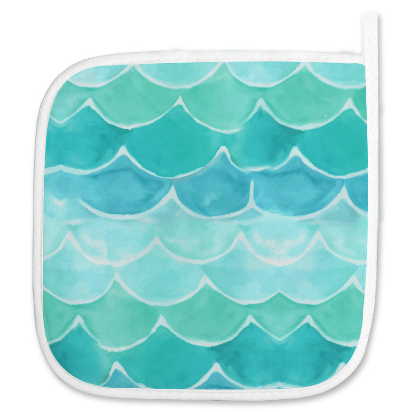 Mermaid Pot Holder