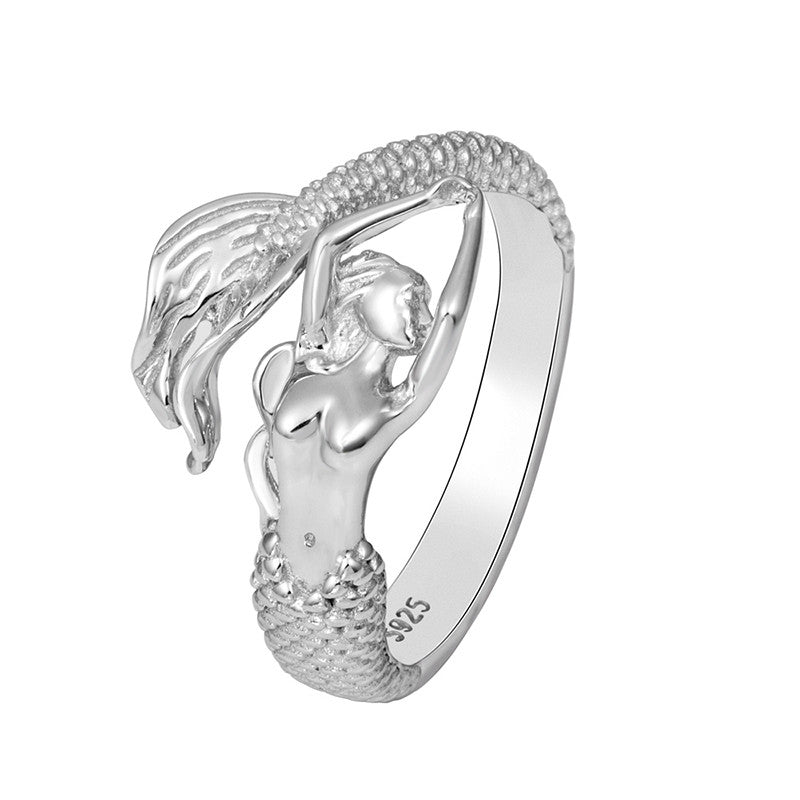 Mermaid Naia 925 Sterling Silver Ring