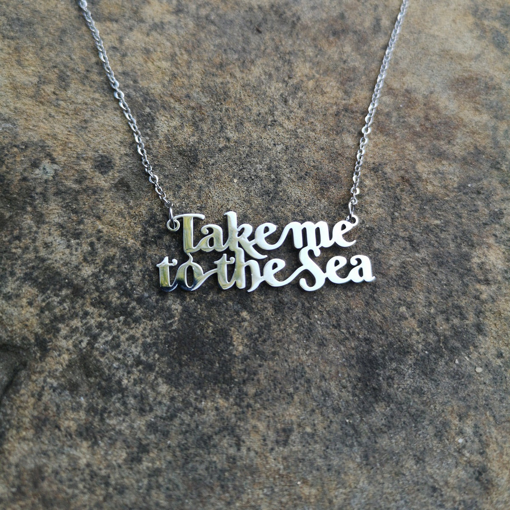 Take Me To The Sea Necklace