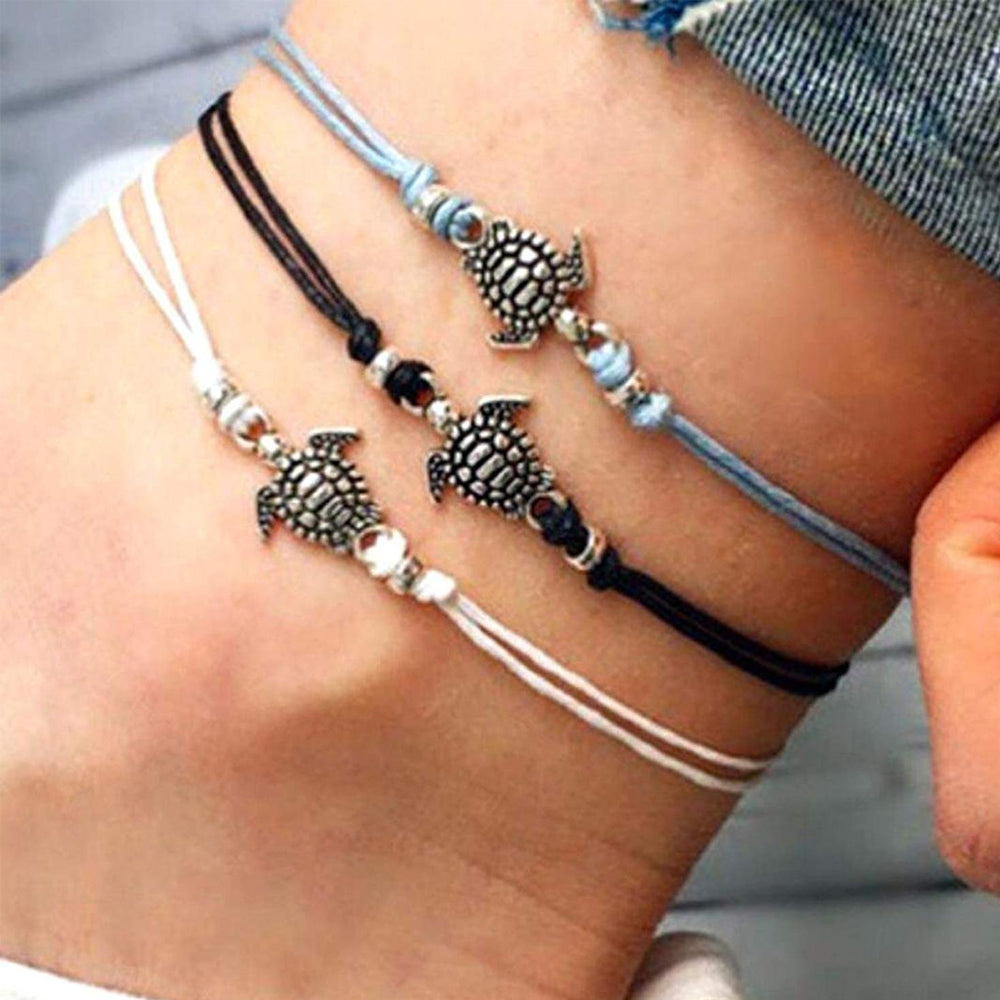 Little Turtles - Set Of 3 Bracelets